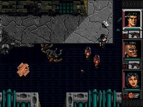 Shadowrun til Sega Mega Drive.