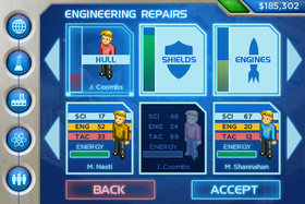Utviklerne beskriver Star Command som en blanding av X-Com, The Sims og Game Dev Story.