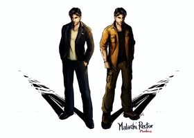 Moebius' hovedperson, Malachi Rector.