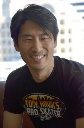 Josh Tsui fra Robomodo (Foto: Øystein Furevik/Gamer.no)