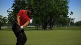 Tiger Wood PGA Tour 13 spiller på lag med Kinect.