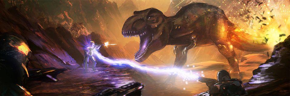 Samarbeid mot dinosaurene