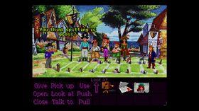 Monkey Island 2 brukte også SCUMM-motoren, men Full Throttles grensesnitt er mer rendyrket.