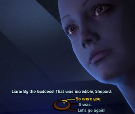 Dialogvalgene i Mass Effect-serien er ofte såre åpenbare.