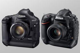 Canon versus Nikon.