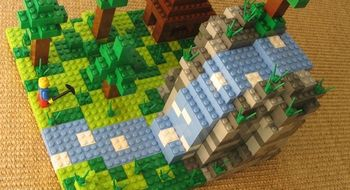 Minecraft blir LEGO-klosser