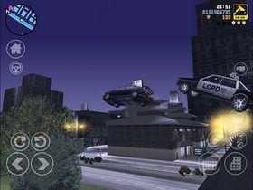 Sånn ser GTA III ut på iPhone.