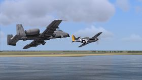 Spillet blir kompatibelt med andre DCS-titler, inkludert A-10C Warthog.
