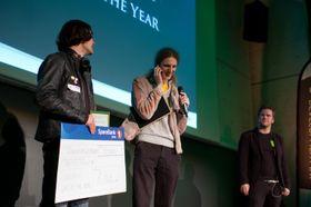 To av vinnerne fra 2010, Owlboy-studioet D-Pad Studios.