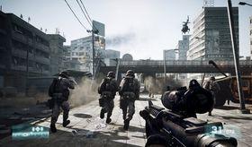 Skjermbilde fra Battlefield 3 på PC.