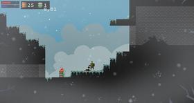Ludum Dare-spillet Frostbite (PC).