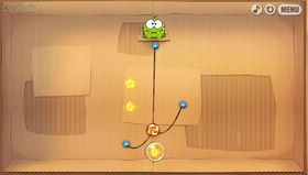 Cut the Rope (web og iOS).