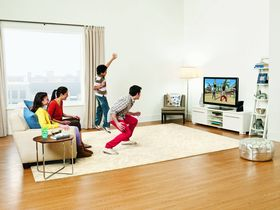 Lykkelig familie som ikke har fått Xbox Live-kontoen sin hacket enda.