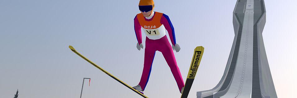 Husker du Deluxe Ski Jump?