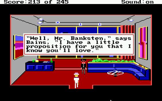 Hvis du skal gå undercover som riking er det viktig å komme opp med et troverdig navn. Jeg vet ikke om Mr. Banksten er det navnet.