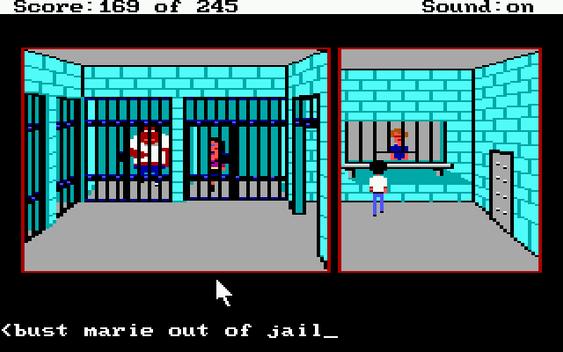 Byens fengsel. De har arrestert Sweet Cheeks Marie!