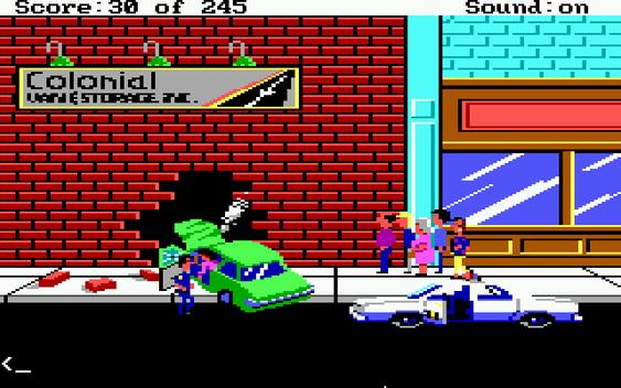 «I kampen mellom vegg og bil var det bilen som tapte», sier spillet. Jeg synes det gikk hardt utover veggen også.