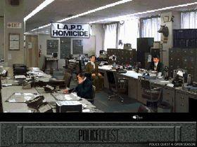 Police Quest: Open Season. Digitalisert grafikk hadde fortsatt en vei å gå (bilde: Good Old Games).