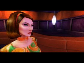 Heller hun her enn tøyta Lara Croft, altså.