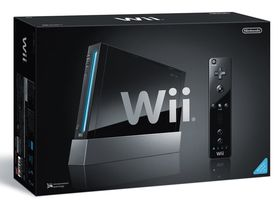 Sort Wii.