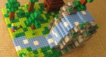 Minecraft kan få egen LEGO