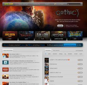 Nettbutikken GOG.com.