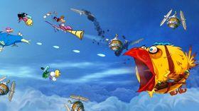 Til og med R-Type har snike seg inn i Rayman: Origins.