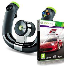 Forza Motorsport 4 og ratt.