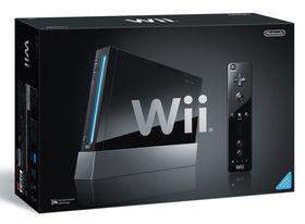 Sort Nintendo Wii.
