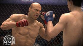 Det er ikke like lett å få tilgang til alt i EA MMA.