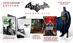 Batman: Arkham City Steelbook Edition.