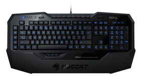 Roccat Isku Illuminated Gaming Keyboard.