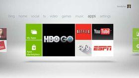 Nye applikasjoner i Xbox Live.
