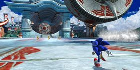...og Sonic slik vi kjenner han fra de senere år.