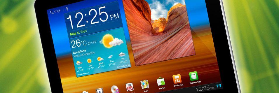 KONKURRANSE: Vinn Samsung Galaxy Tab 10.1
