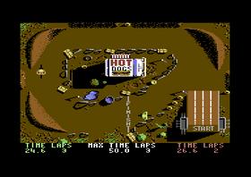 Bildene er fra Commodore 64-versjonen.
