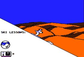 Bilder fra spllet på Apple II.