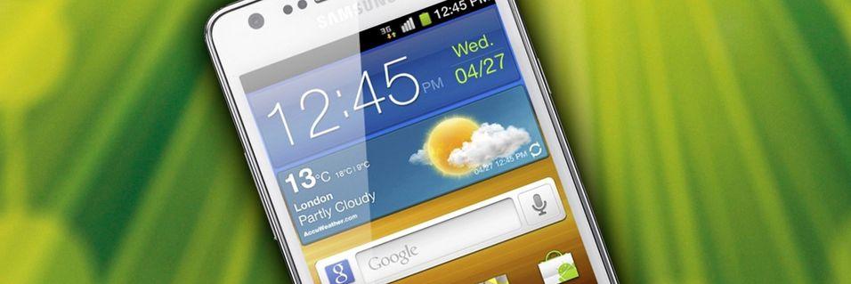 KONKURRANSE: Vinn en hvit Samsung Galaxy SII