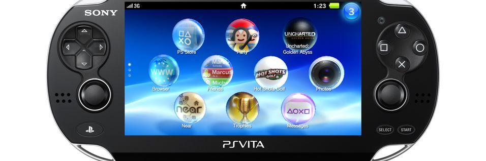 Ingen PlayStation-spill på Vita