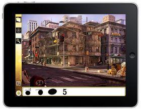 Sånn kan spillet se ut på en iPad.