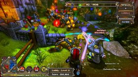 Dungeon Defenders (Xbox 360 og PC).