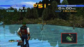 Sega Bass Fishing (Xbox 360, PC og PS3).