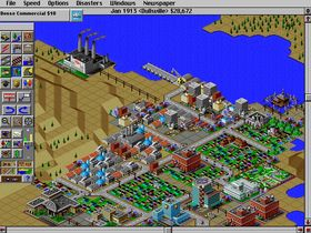 Sim City 2000 (PC).