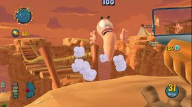 Worms: Ultimate Mayhem (PC og Xbox 360).