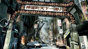 Tokyo i ruiner.