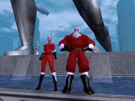 Man kan lage mange snodige figurer i City of Heroes.