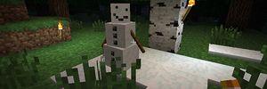 Snømenn i Minecraft