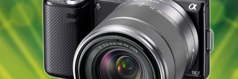 KONKURRANSE: Vinn kamerapakke fra Sony