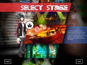 Spillet har flere omgivelser du kan 'fremføre' i, deriblant en undersjøisk klubb og en gedigen yacht.