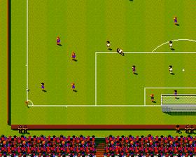 Sensible Soccer: European Championship Edition. Rimelig lik originalen.